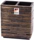 Стакан для зубной щетки и пасты Ridder Brick Antique 22150248 -