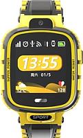 Умные часы детские Wise TD-26 (желтый/черный) -