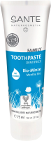 Зубная паста Sante Family с мятой и фтором (75мл) -