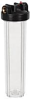 Магистральный фильтр Аквабрайт Стандарт АБФ-20ББ-ПР (прозрачный корпус) -