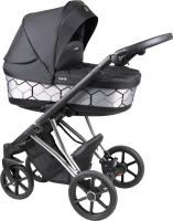 Детская универсальная коляска Coletto Craft 2 в 1 Silver / CP-01 -