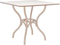 Обеденный стол Импэкс Leset Тор квадратный (беленый дуб) -