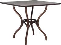 Обеденный стол Импэкс Leset Тор квадратный (темный орех) -