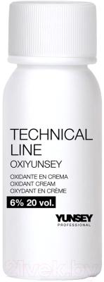 Крем для окисления краски Yunsey Professional Oxiyunsey Technical Line Oxidant 6% 20 Vol (60мл)