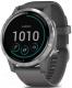 Умные часы Garmin Vivoactive 4 / 010-02174-03 (серебристый/серый) -