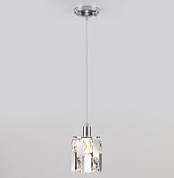 Потолочный светильник Евросвет 50101/1 (хром) -