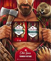 Набор косметики для тела и волос Old Spice Bearglove дезодорант-спрей 150мл+гель д/душа+шампунь 2 в 1 250мл -