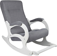 Кресло-качалка Calviano Бастион 2 с подножкой (мемори 15) -