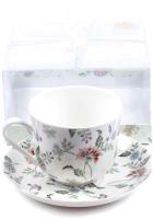 Чашка с блюдцем Best Home Porcelain Tiffany / M1270606 -