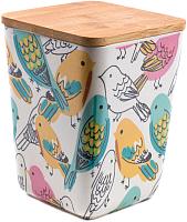 Емкость для хранения Fresca Птицы / BP1111-M-17003 -
