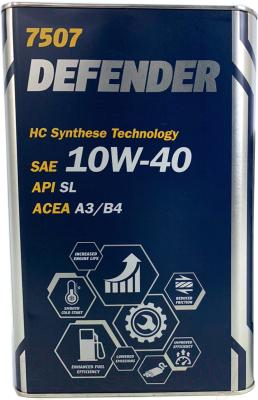 Моторное масло Mannol Defender 10W40 SL Metal (4л)
