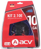 Комплект проводов для автоакустики ACV KIT 2.10S -