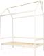 Стилизованная кровать детская Можга Р424Э (белая эмаль) -