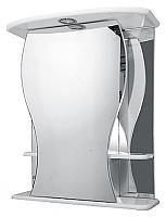 Шкаф с зеркалом для ванной Misty Карина 60 R / Э-Крн02060-01СвП -