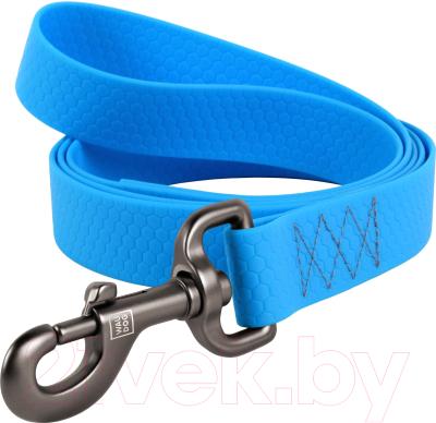 Поводок Collar Waudog Waterproof 27272 (голубой)