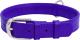 Ошейник Collar Waudog Glamour 33229 (фиолетовый) -
