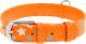 Ошейник Collar Waudog Glamour Звездочка 35874 (оранжевый) -