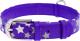 Ошейник Collar Waudog Glamour Звездочка 35879 (фиолетовый) -