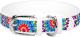 Ошейник Collar Waudog Цветы 378715 (белый) -