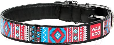 Ошейник Collar Waudog Этно 37771-1 (черный)