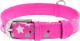 Ошейник Collar Waudog Glamour Звездочка 35867-1 (розовый) -