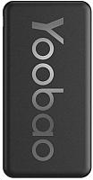 Портативное зарядное устройство Yoobao Power Bank P20T (черный) -