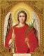 Набор алмазной вышивки Алмазная живопись Икона Ангел хранитель / АЖ-5013 -