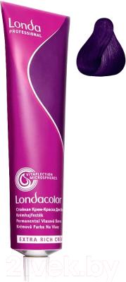 Крем-краска для волос Londa Professional Londacolor Стойкая Permanent 0/66 (интенсивный фиолетовый микстон)