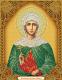 Набор алмазной вышивки Алмазная живопись Икона Великомученица Ирина / АЖ-5046 -