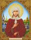 Набор алмазной вышивки Алмазная живопись Икона Святая Блаженная Ксения / АЖ-5066 -