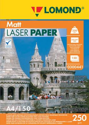 Бумага Lomond А4, 250 г/м, 150 л. / 0300441 (матовая)