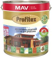 Защитно-декоративный состав MAV Профитекс (1л, палисандр) -