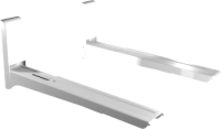Кронштейн для крепления микроволновой печи Mart 03М (белый) -