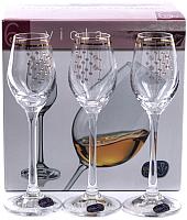 Набор рюмок Bohemia Crystal Viola 40729/Q9104/60 (6шт) -