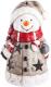 Световая фигурка Neon-Night Снеговичок в шарфе 505-015 -