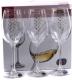 Набор бокалов Bohemia Crystal Viola 40729/Q9104/250  (6шт) -