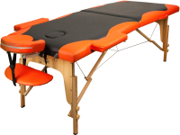 Массажный стол Atlas Sport 2D-60185/4B (black/orange) -