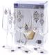Набор бокалов Bohemia Crystal Sandra 40728/S1387/200 (6шт) -