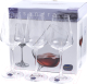 Набор бокалов Bohemia Crystal Sandra 40728/C5987/350 (6шт) -