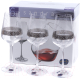 Набор бокалов Bohemia Crystal Sandra 40728/Q9171/350 (6шт) -