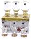 Набор бокалов Bohemia Crystal Gina 40159/M8606/340 (6шт) -