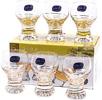 Набор рюмок Bohemia Crystal Gina 40159/M8441/60 (6шт) -