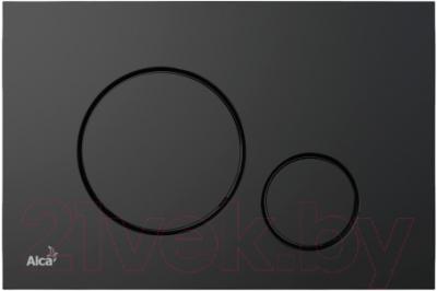 Кнопка для инсталляции Alcaplast M678 (черный)