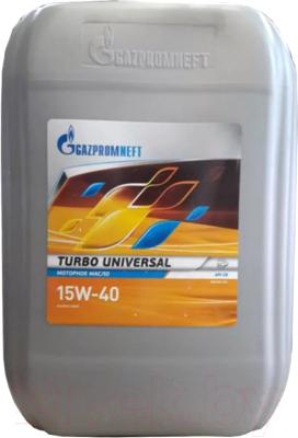 Моторное масло Gazpromneft Turbo Universal 15W40 / 2389901240 (20л)