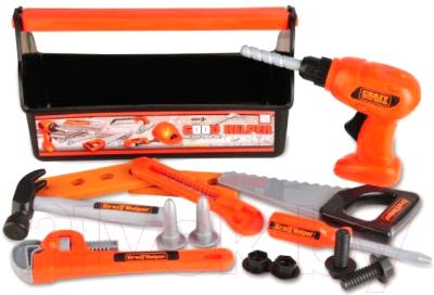 Набор инструментов игрушечный XinLeTong Строитель / 3255-H