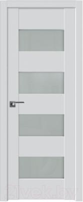 Дверь межкомнатная ProfilDoors Модерн 46U 70x200 (аляска/стекло матовое)