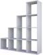 Стеллаж Polini Kids Home Smart Каскадный 10 секций (белый) -