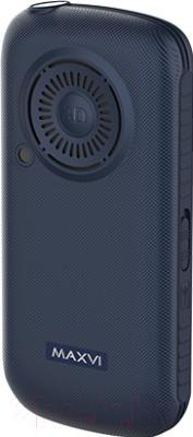 Мобильный телефон Maxvi B5 (синий)