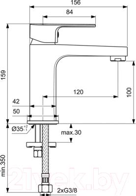 Смеситель Ideal Standard Cerafine BC553AA