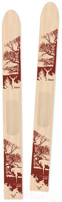 Лыжи беговые No Brand Deer промысловые (175см)